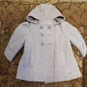 Girls Old Navy wool pea coat